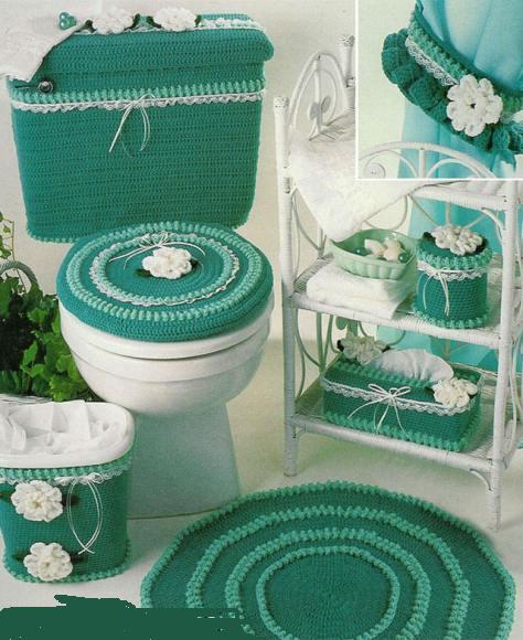 Yeşil Banyo Takımı Örneği