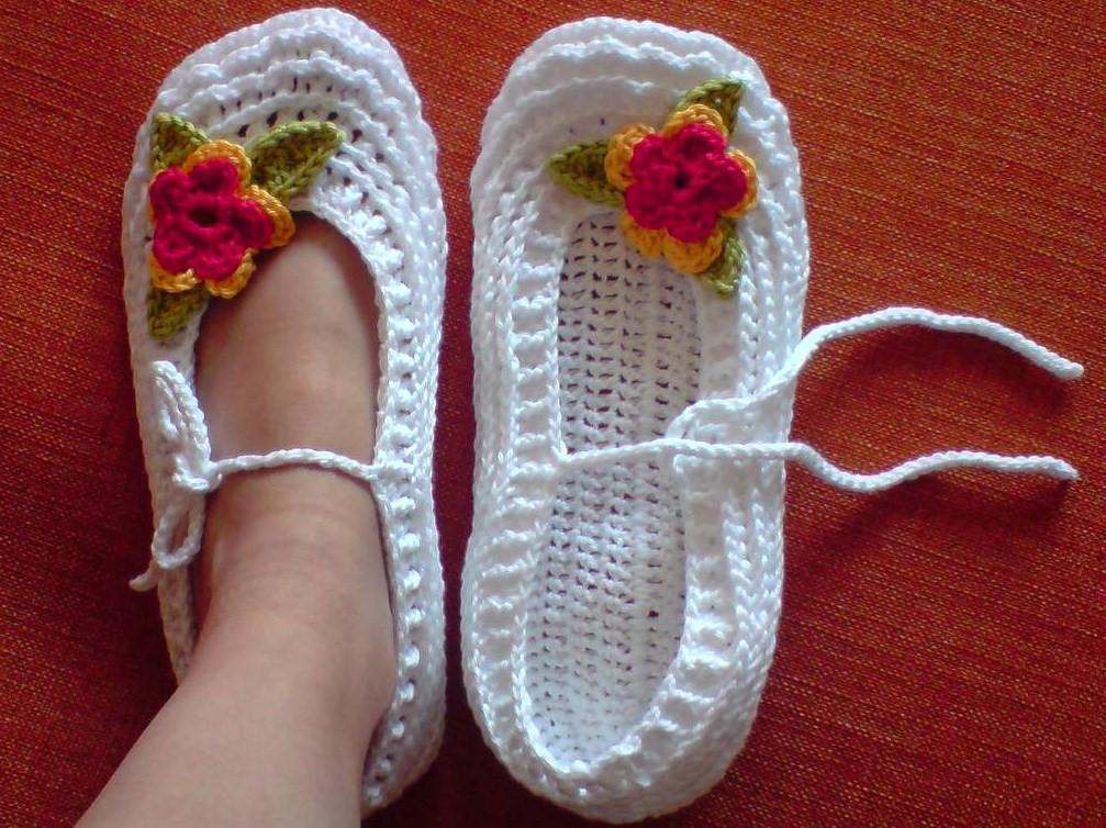Beyaz Elişi Babet Patik Modelleri