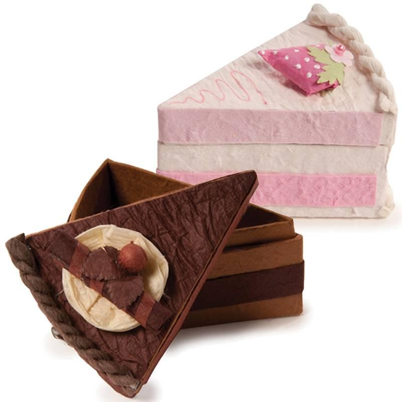 Pasta Dilimi Elişi Kutu Modelleri