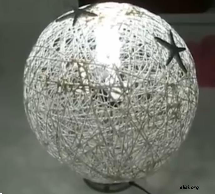 Balondan Elişi Abajur Yapımı