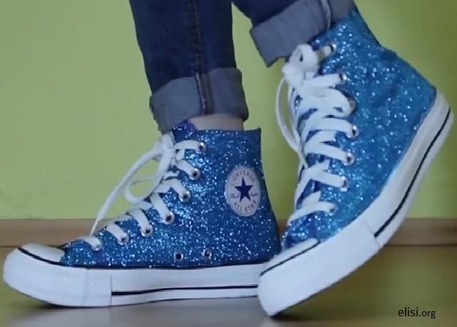 Converse Ayakkabılarımızı Simle Yenileme  Yapılışı
